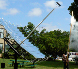 MIT Solar Dish