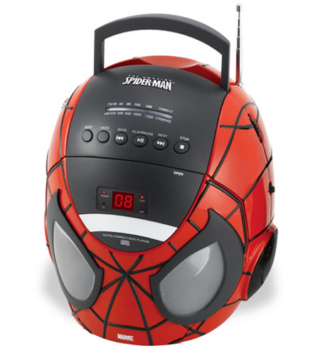 Spider-Man Boombox