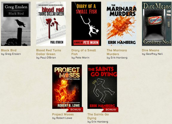 StoryBundle crime thriller books