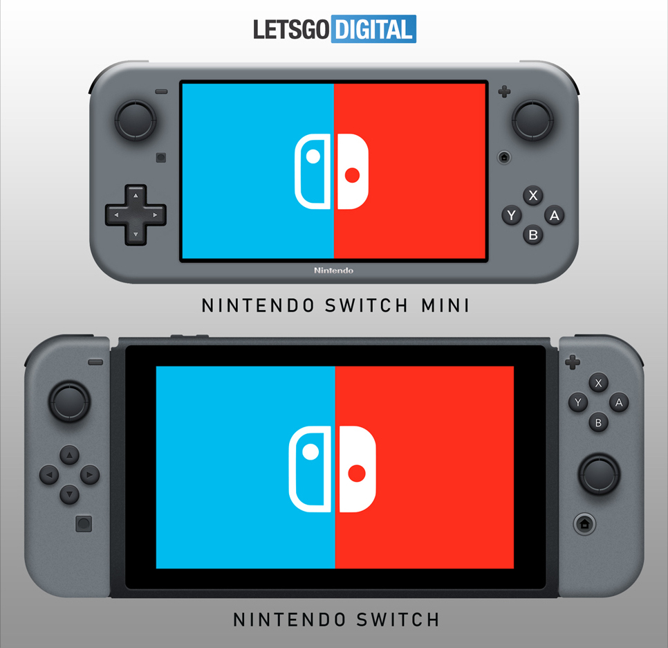 Nintendo Switch Mini vs Switch