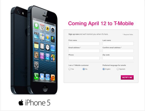 T-Mobile officially launches iPhone