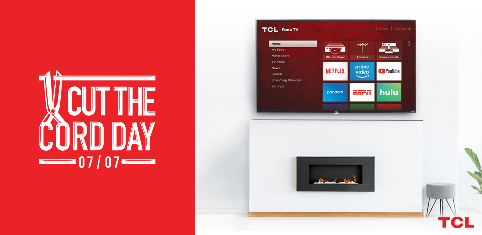 TCL Cut the Cord Day Giveaway
