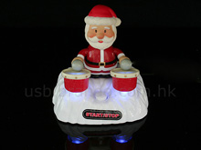 USB Drumming Santa