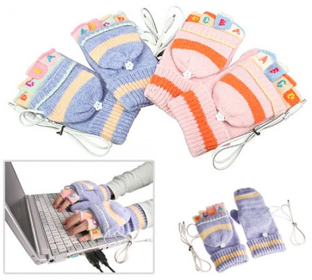 Women's USB gloves