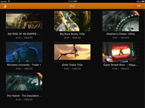 VLC iOS App