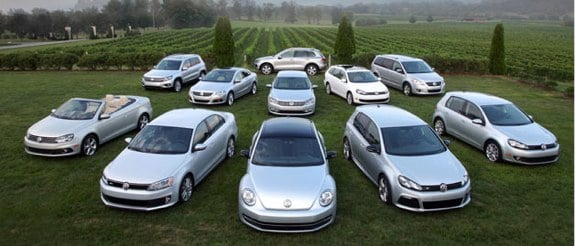 Volkswagen best quarter record