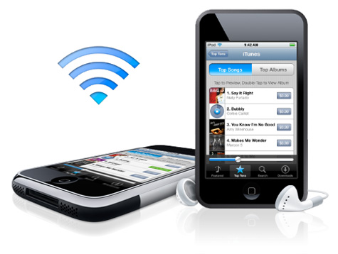 iTunes Wifi Music Store
