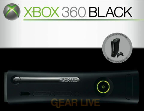 Xbox 360 Black
