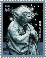 Yoda Postage Stamp