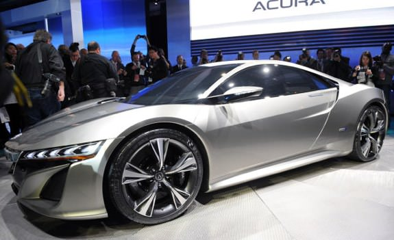 Acura NSX concept car