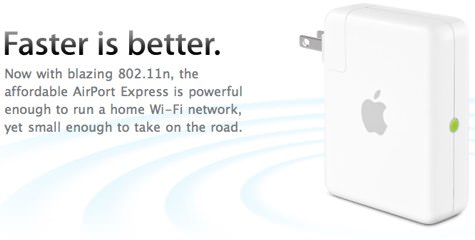 Airport Express 802.11n