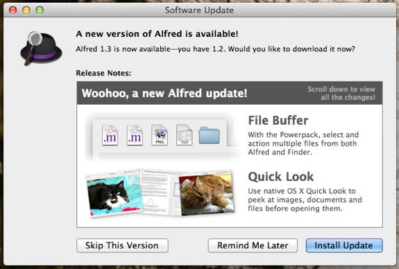 Alfred 1.3