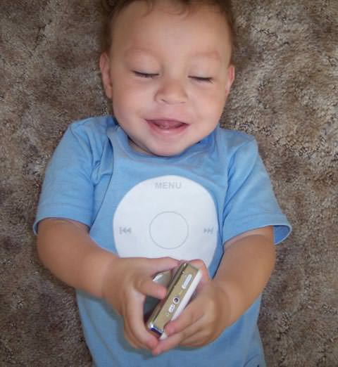 iPod My Baby Alijah