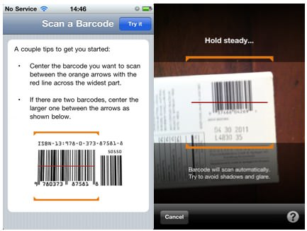 Amazon App Barcode