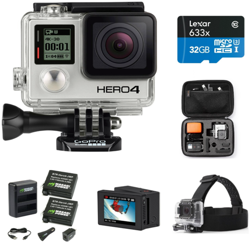 Amazon Prime Day gopro hero 4 black