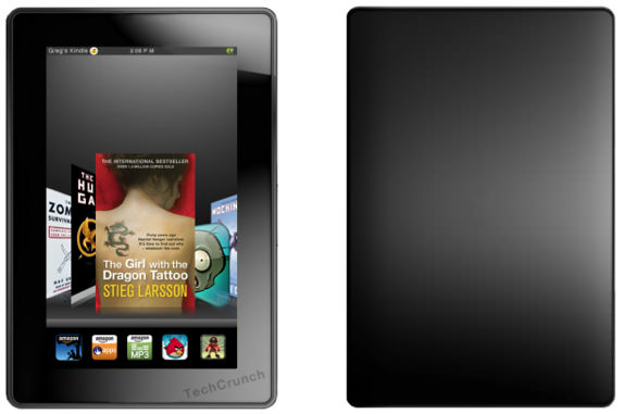 Kindle Fire mockup