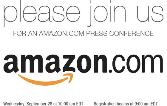 Amazon tablet kindle press conference