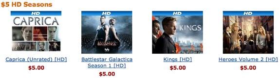 Amazon $4 Season Special