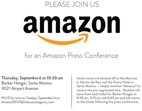 Amazon Kindle Event