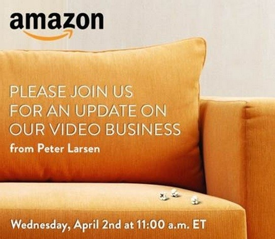 Amazon Video Media invitation