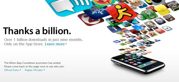 App Store Billion Downloads