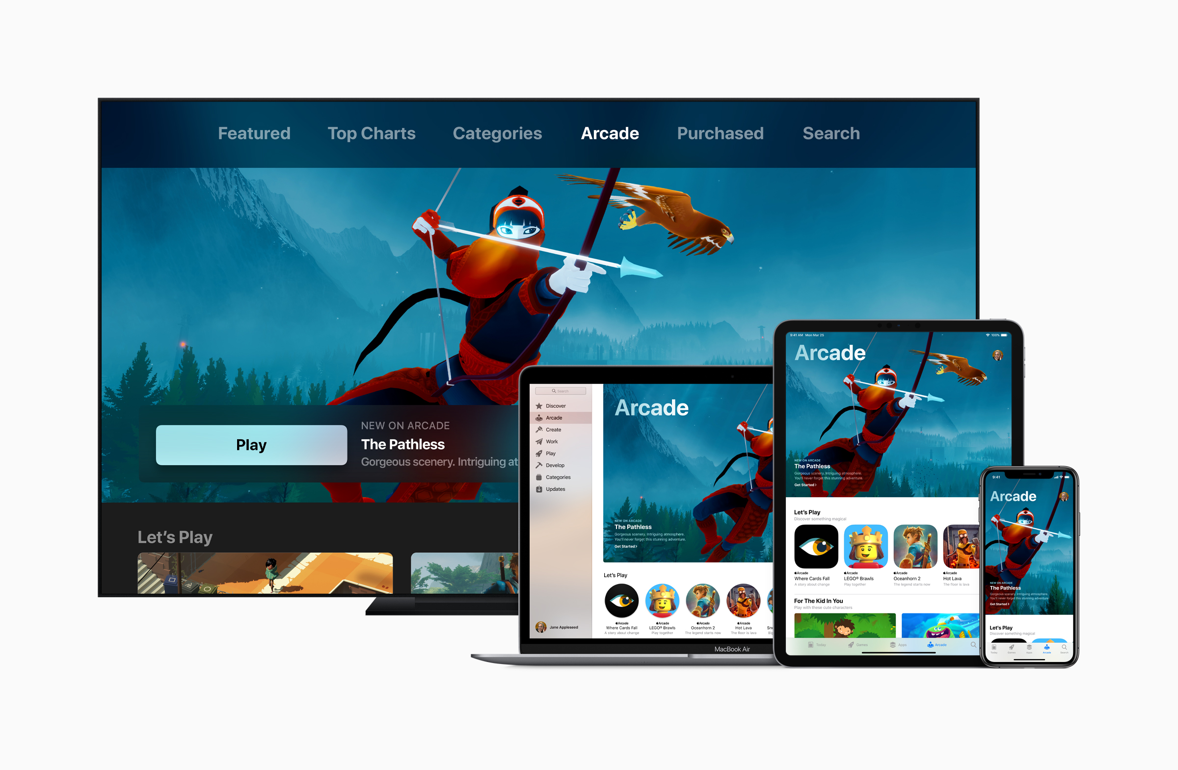 Apple Arcade lineup