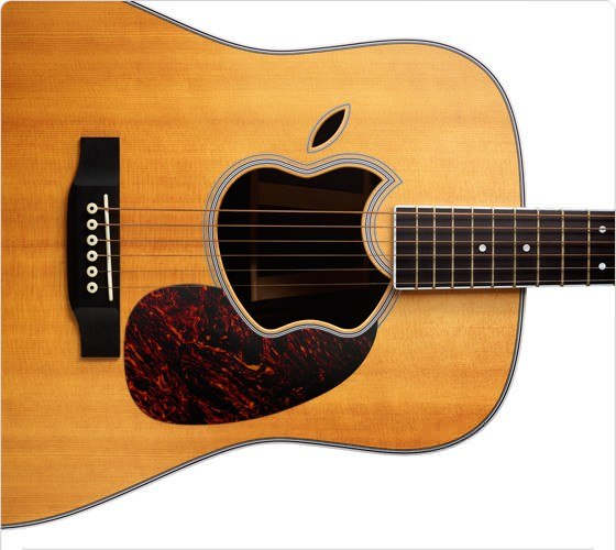 Sept 1 Apple Event guitar