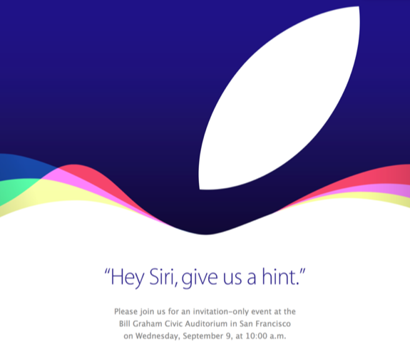 Apple Event hey siri give us a hint