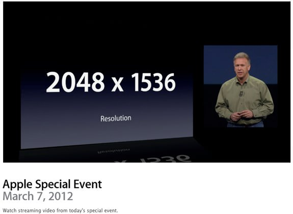 iPad 3 Event Video