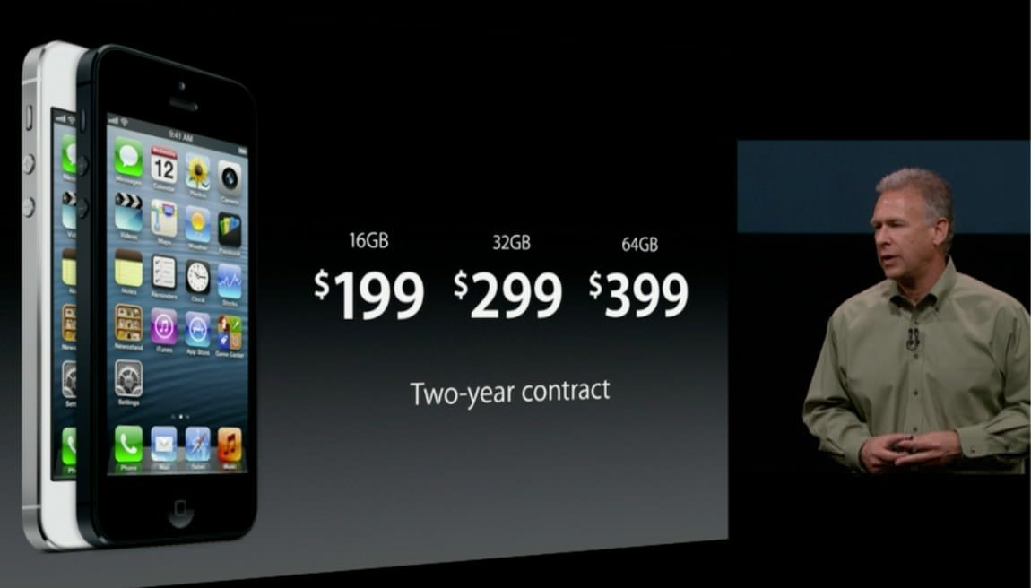 Apple iPhone 5 event video