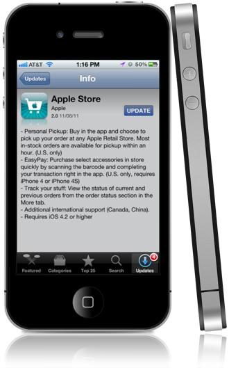 Apple Store 2.0 App