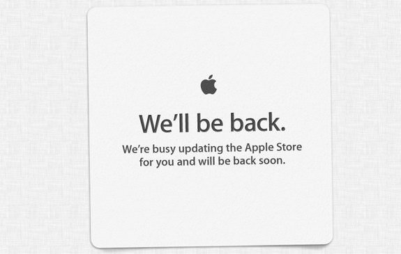 Apple Store is down