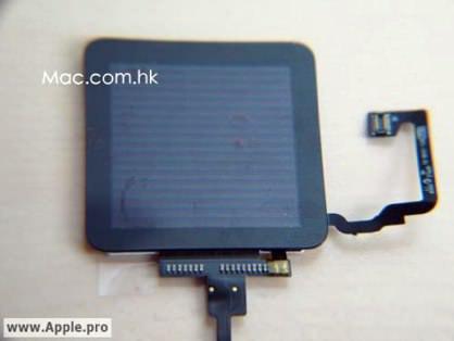 iPod shuffle touchscreen