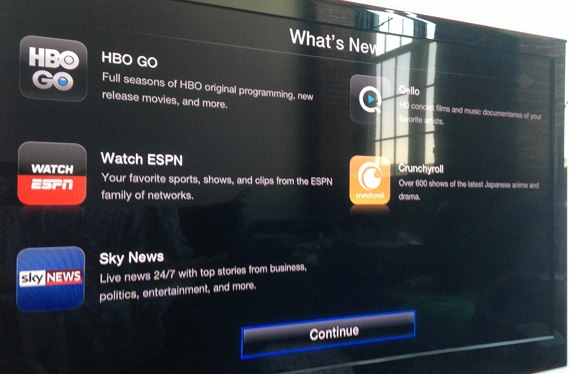 Hbo go Apple tv no Picture Apple tv 5 3 Hbo go Espn