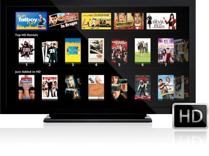 Apple TV HDTV
