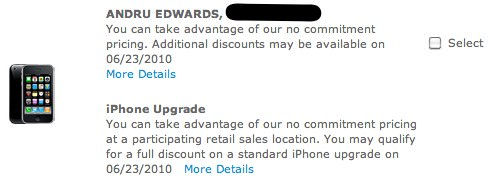 At&T iPhone Pro upgrade eligibility