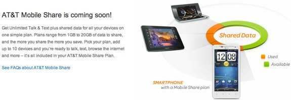 AT&amp;T Mobile Share