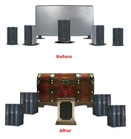 Audiovox Home Decor Speakers