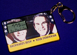 Bush Countdown Keychain