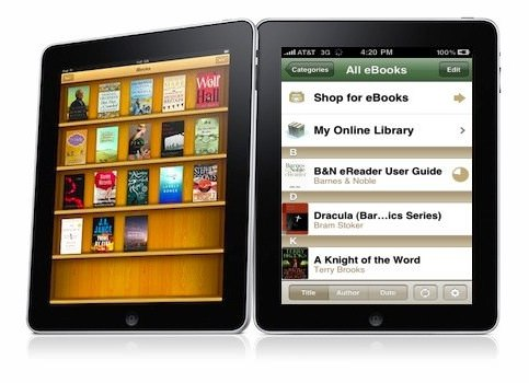 Barnes and Noble iPad app