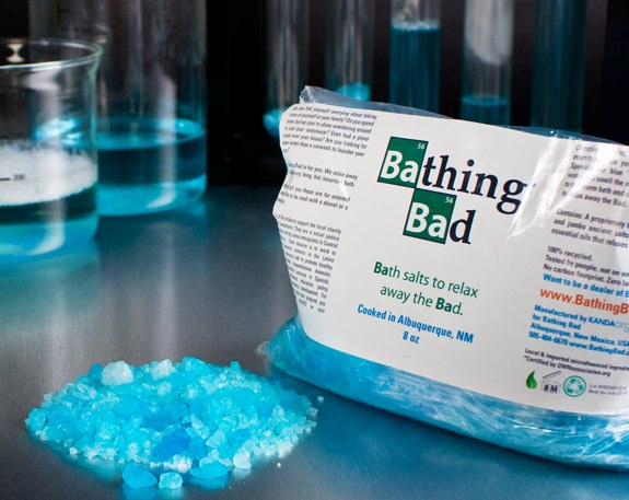 Bathing Bad Breaking Bad bath salt