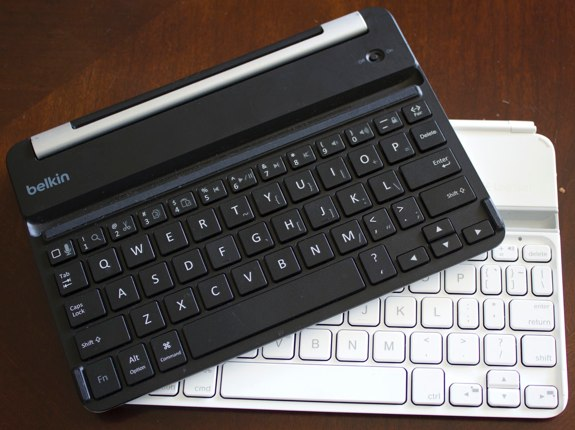 belkin fastfit logitech ultrathin ipad mini review