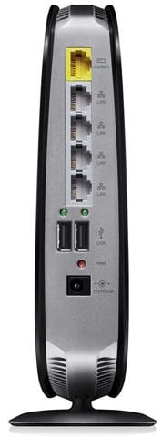 Belkin N900 ports