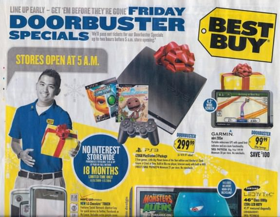 Best Buy Black Friday 2009