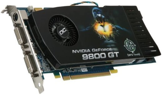 BFG GeForce 9800 GT OC