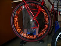 Bike Wheel POV