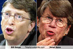 Bill Gates/Janet Reno