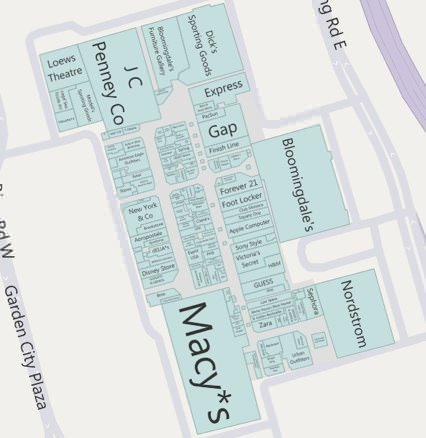 Bing Maps Mall