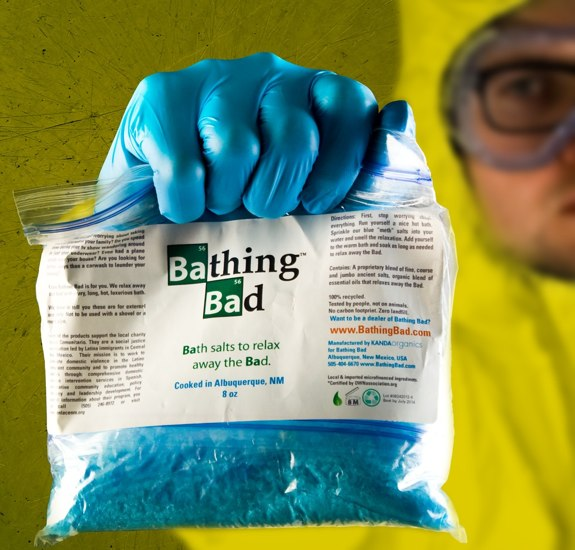 Bathing Bath bath salt breaking bad