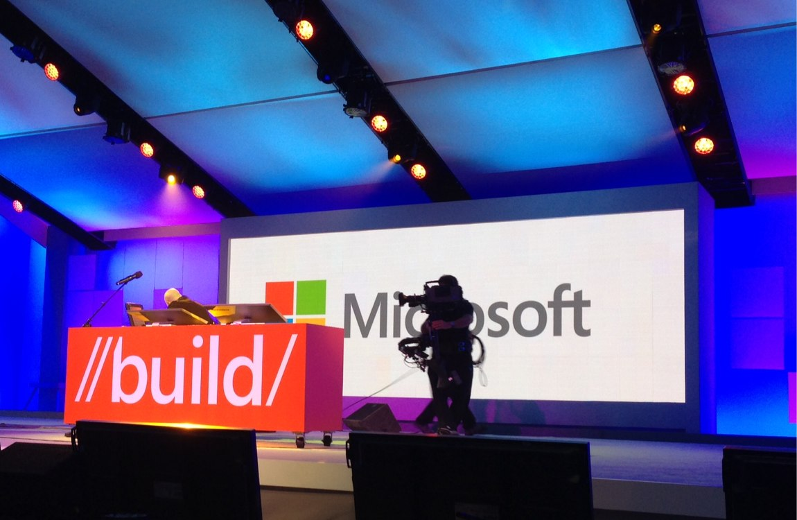 Build 2012 stage